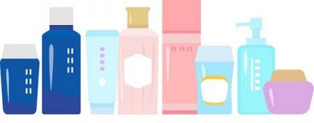 化粧品イラスト防腐剤