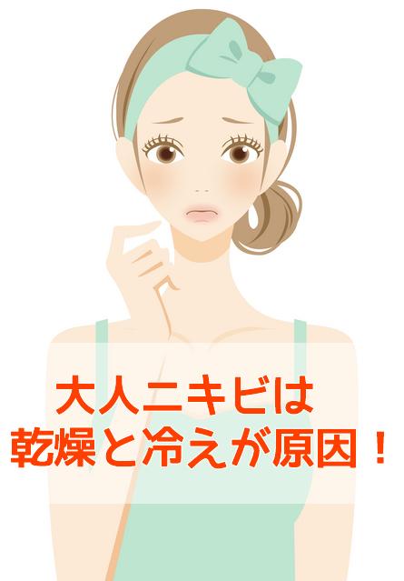 肌の悩みニキビ原因と対策
