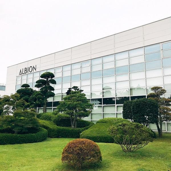 アルビオン工場見学